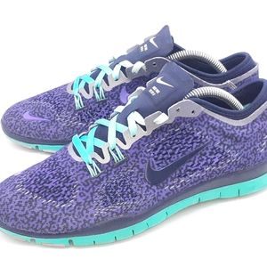 Nike Free 5.0 Tr FIT 4 Athletic Shoes Grape US 8.5